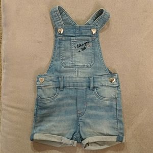 H&M baby girl overalls (4-6 months)